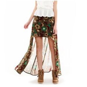 Nanette Lepore L'Amour High/Low Skirt